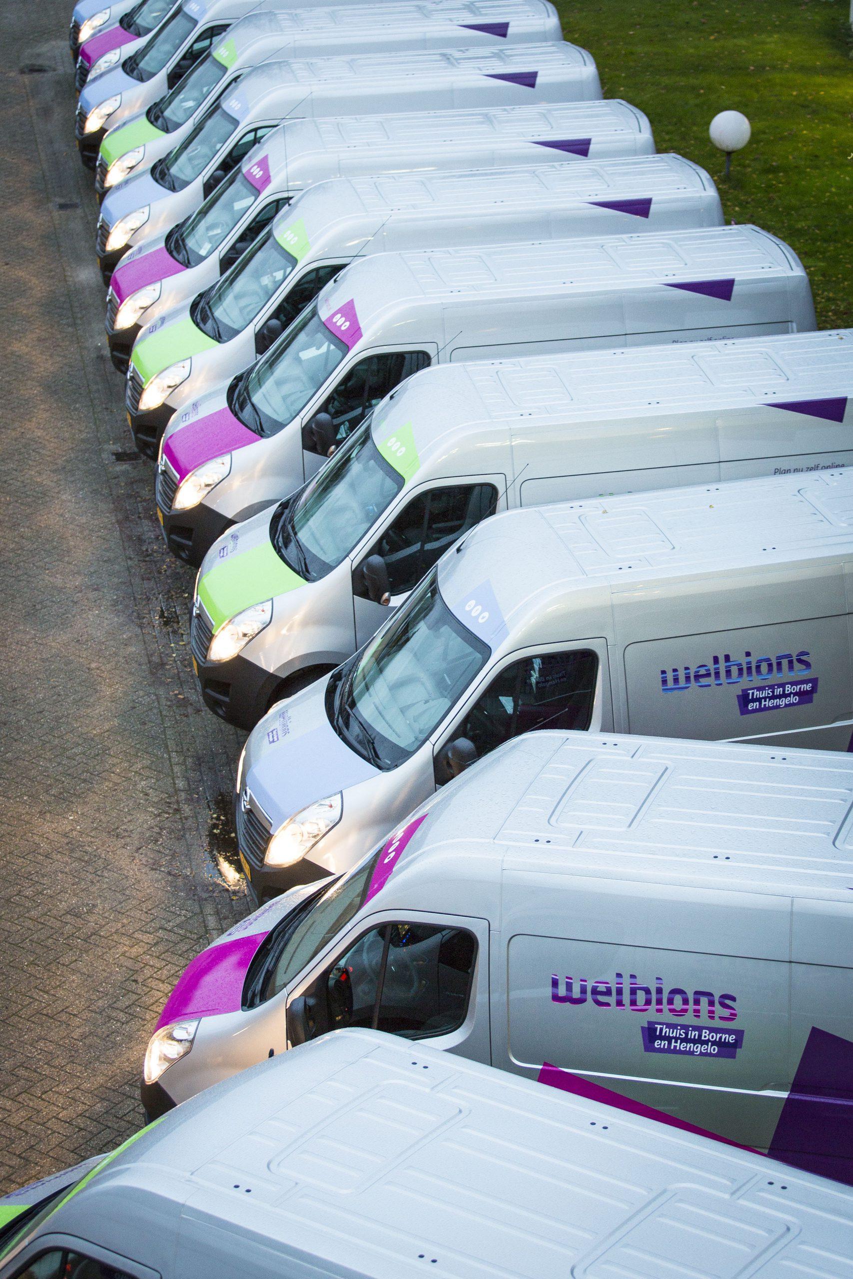 Verduurzamen wagenpark Woningbouwcorporatie Welbions
